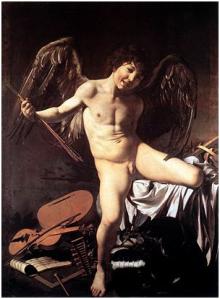 Caravaggio - Omnia vincit Amor